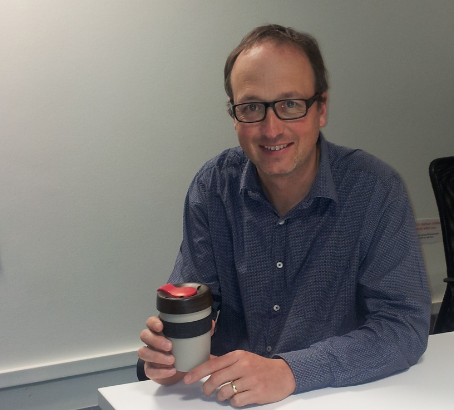 Stephen Reardon and his KeepCup