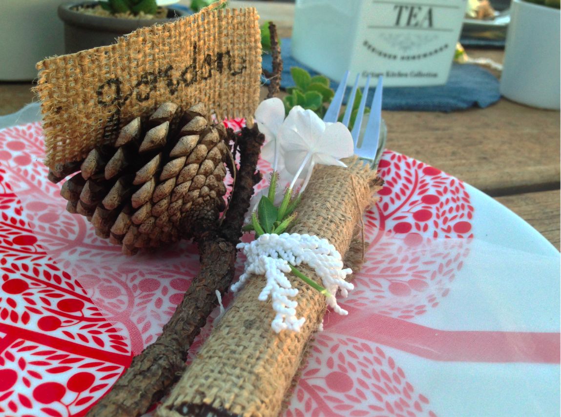 Sustainable table setting