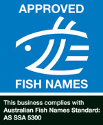Fish names logo